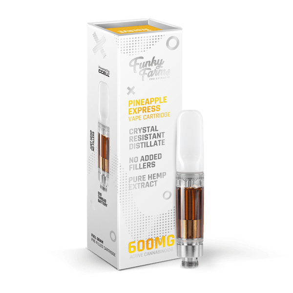 Funky Farms Pineapple Express CRD Cartridge 1mL (600mg)