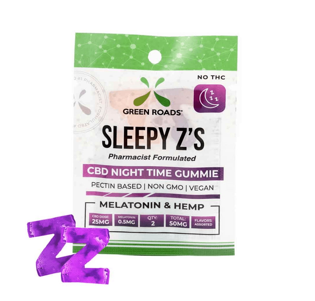 Green Roads CBD Sleepy Z's CBD & Melatonin Gummies