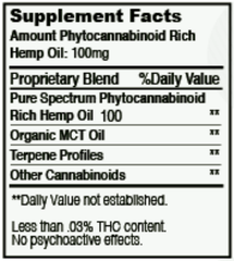 Natural - Pure Clear Cartridge (250MG)