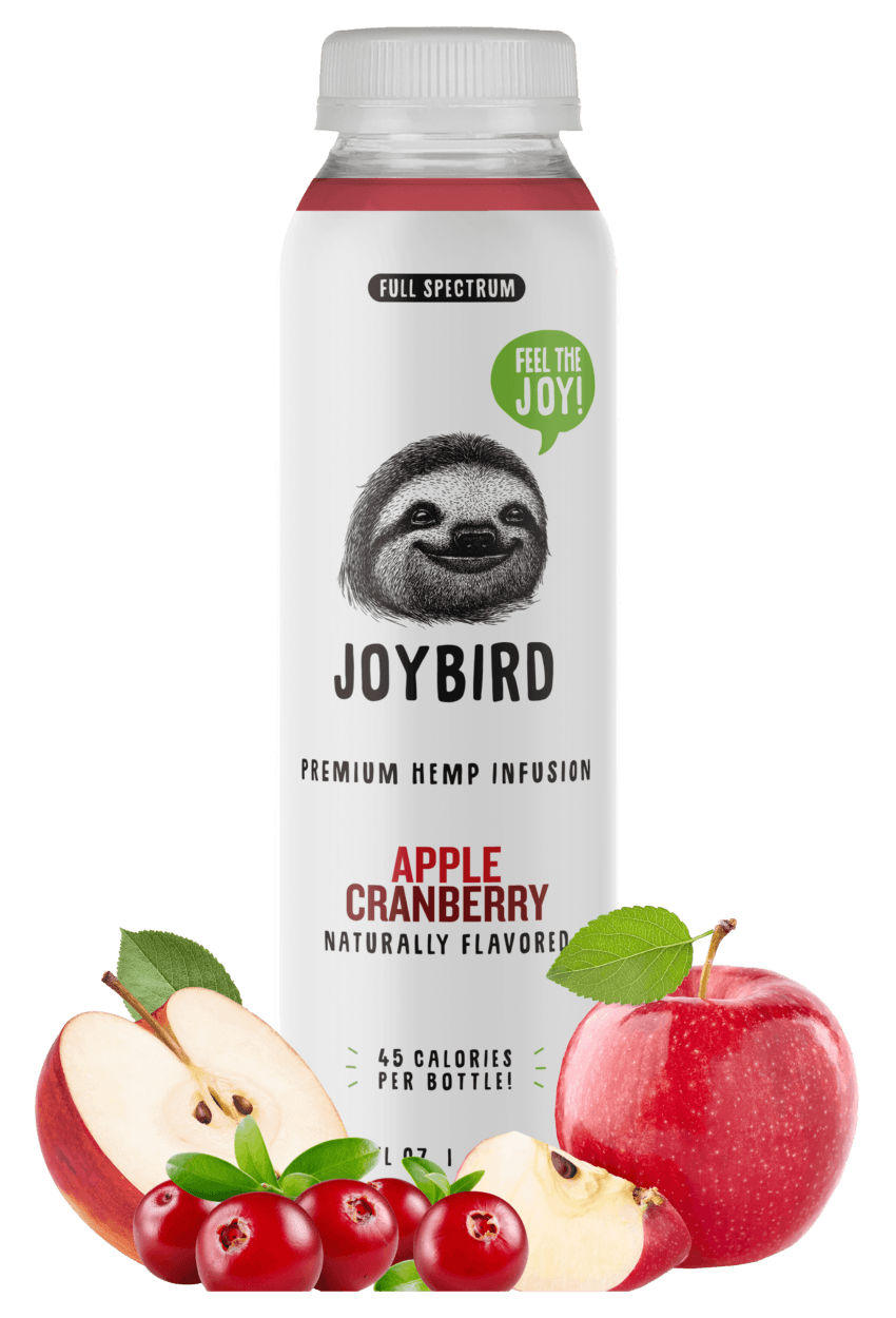 Joybird Wellness Apple Cranberry Full Spectrum CBD Drink