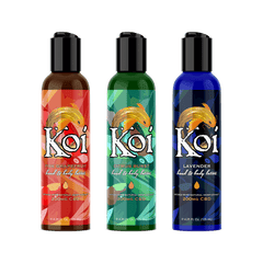 Koi CBD Lotion | 3 Scents | 200mg CBD