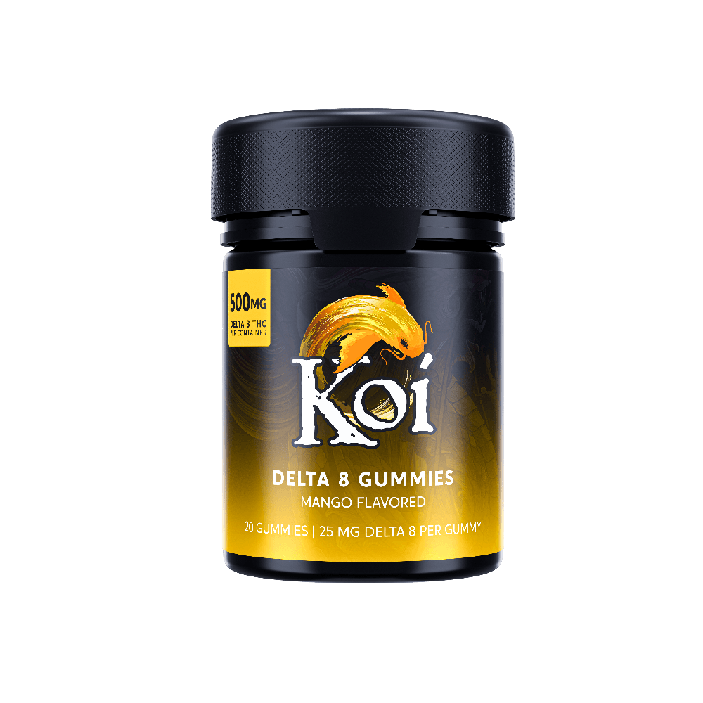 Buy Koi Mango Delta-8 THC Gummies - 500mg - 25mg per Piece
