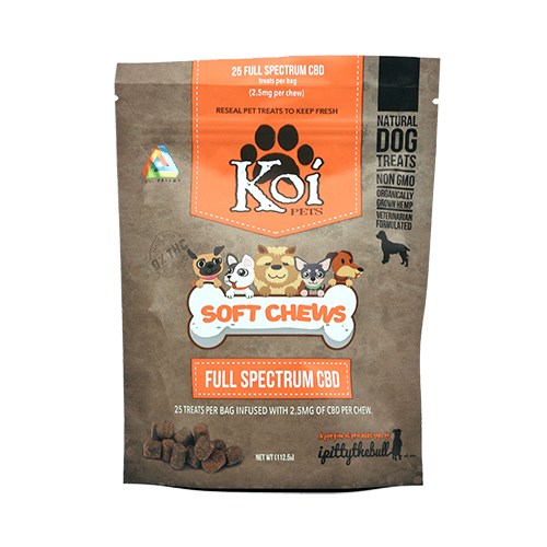 Koi CBD Soft Chews - Cannabidiol Infused Dog Treats