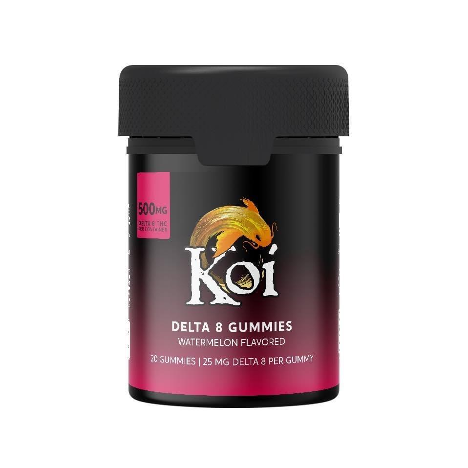 Buy Koi CBD Watermelon Delta-8 THC Gummies - 500mg