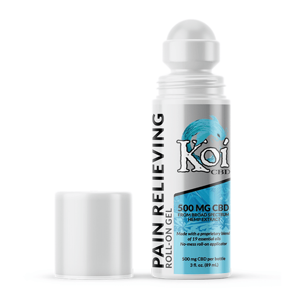 Koi CBD Pain Relieving Gel Roll-On - 500mg CBD Roll-On Topical