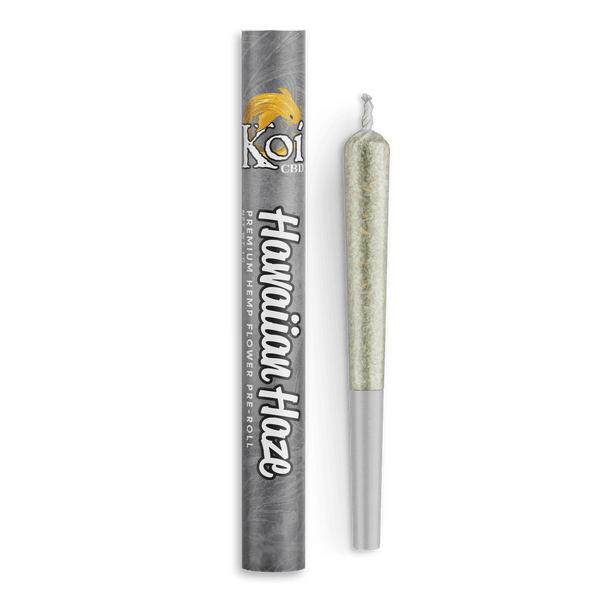 Koi Hawaiian Haze Premium Hemp Flower Pre Roll