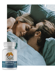 Koi CBD Soft Gels with Melatonin for Sleep Aid