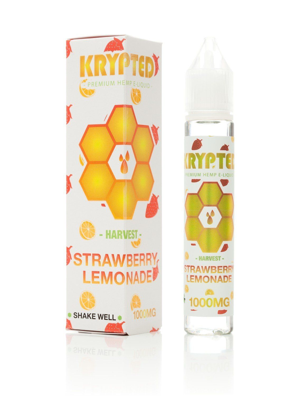 Krypted Strawberry Lemonade CBD Vape Juice