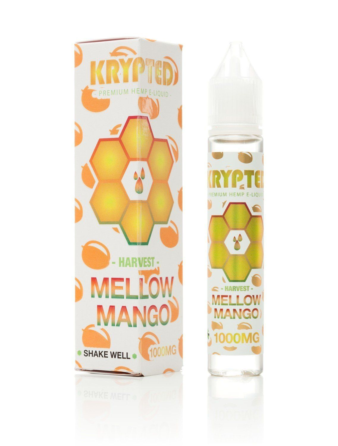 Krypted CBD Mellow Mango CBD Vape Juice