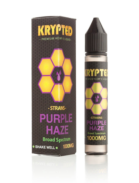 Krypted Purple Haze CBD Vape Juice