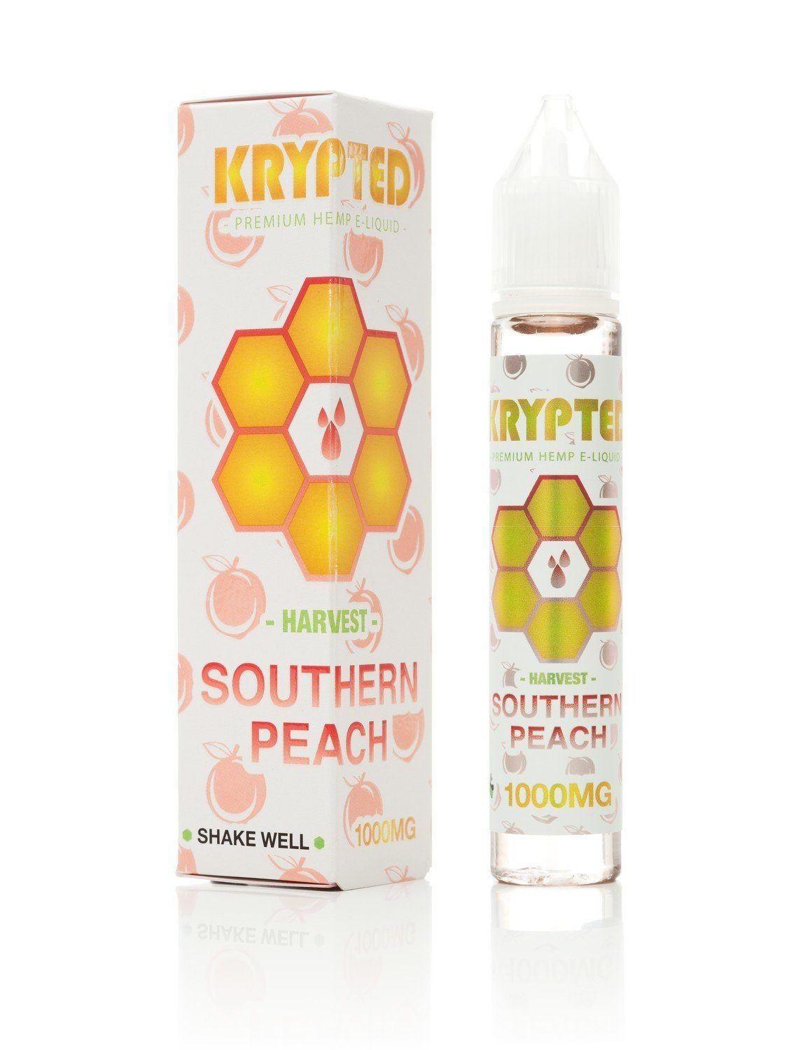 Krypted CBD Southern Peach CBD Vape Juice