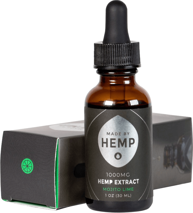 Made By Hemp Mojito Lime Hemp Extract CBD Tincture