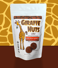 Golden Maple Giraffe Nuts CBD Caramels