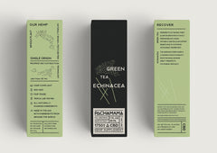 Pachamama Green Tea Echinacea CBD Tincture 750mg Box