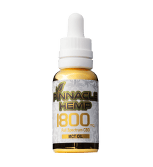 Pinnacle Hemp Full Spectrum CBD Oil Tincture with MCT - 1800mg CBD