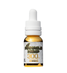 Pinnacle Hemp CBD Oil Tincture with MCT Oil - 300mg CBD