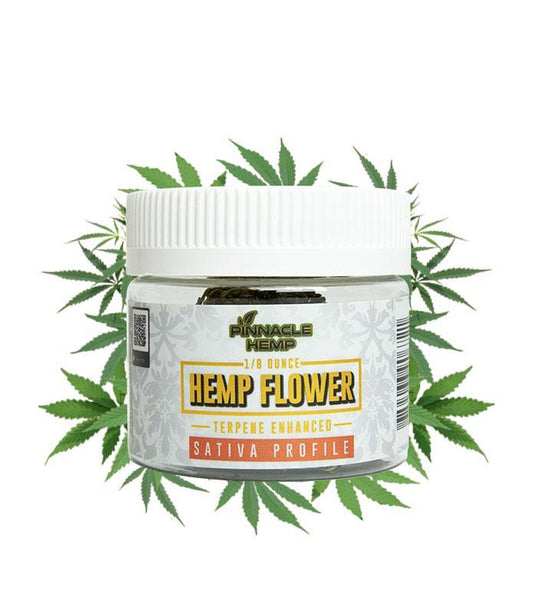 Pinnacle Hemp Super Lemon Haze Premium Smokeable CBD Hemp Flower - Sativa - 1/8 oz