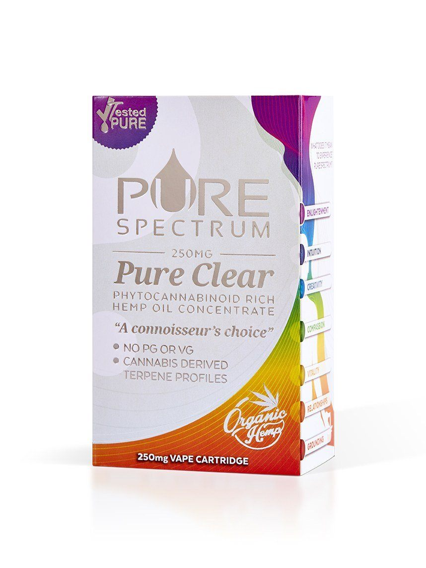 Lemon - Pure Clear Cartridge (250MG)