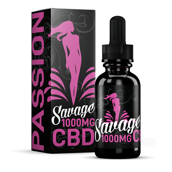 Passion CBD E-Liquid by Savage CBD 1,000mg