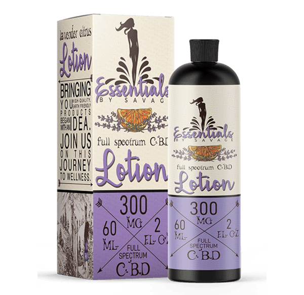 Savage CBD Lavender Citrus CBD Lotion