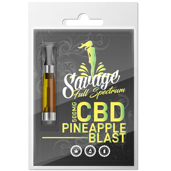 Savage CBD Pineapple Blast CBD Cartridge