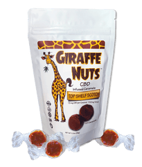 Giraffe Nuts CBD Caramels - Top Shelf Scotch