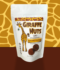 Top Shelf Scotch Giraffe Nuts CBD Caramels 150mg CBD