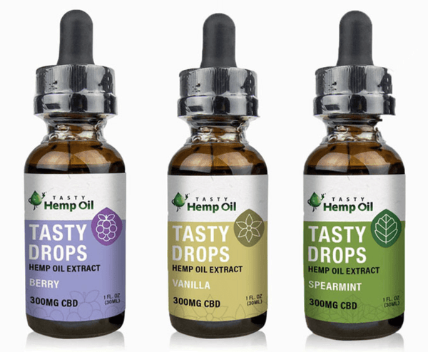 Tasty Hemp Oil Tasty Drops CBD Tincture