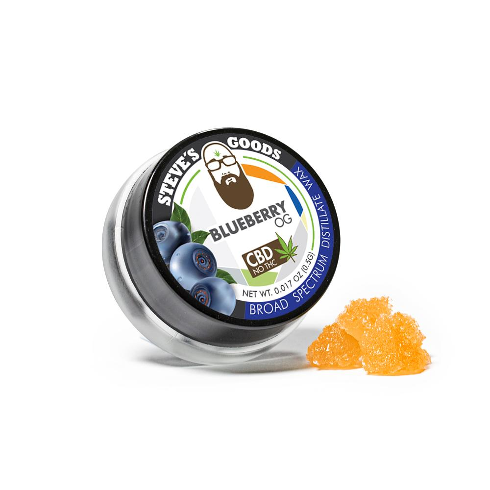Buy Steve's Goods Blueberry OG CBD Wax - Half Gram | CBD Concentrates