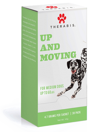 Therabis Up and Moving CBD for Medium Dogs 30 Pack