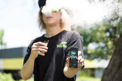 Vaping Wellicy Apple CBD Oil