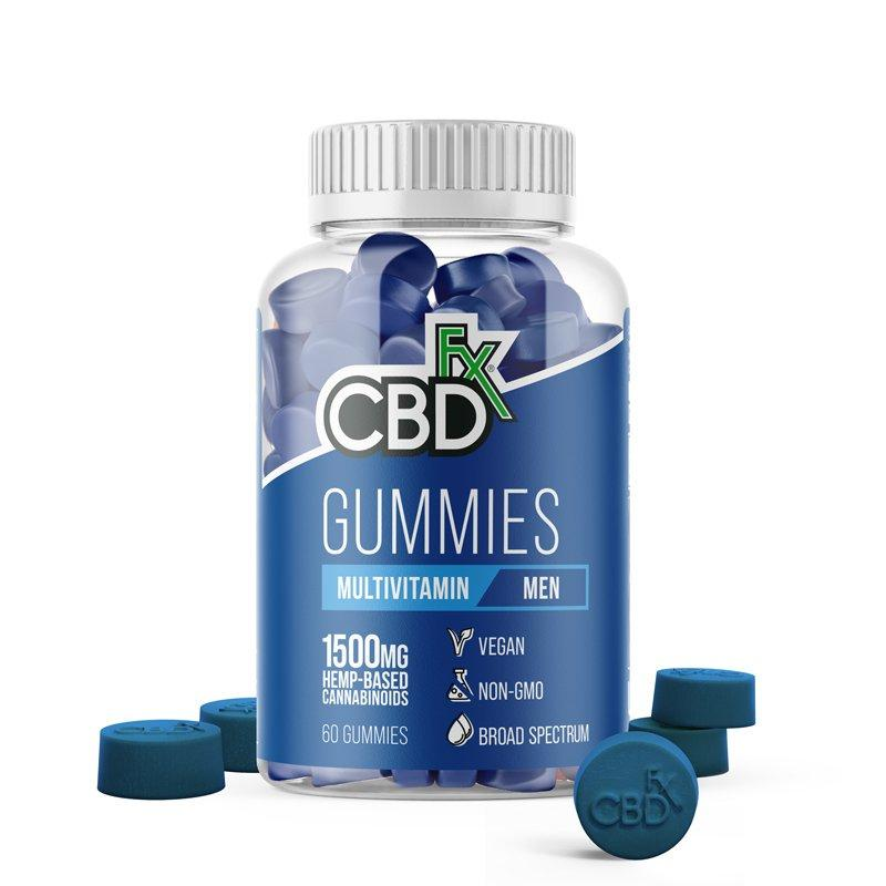 CBDFx Men's Multivitamin CBD Gummy