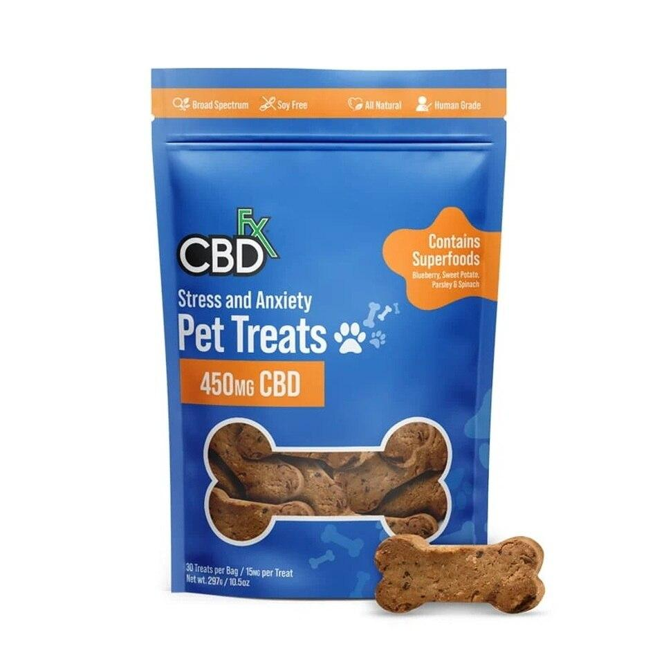 CBDFx Stress & Anxiety CBD Pet Treats
