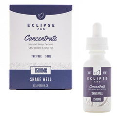 Eclipse CBD Isolate MCT Oil Unflavored Tincture 1500mg