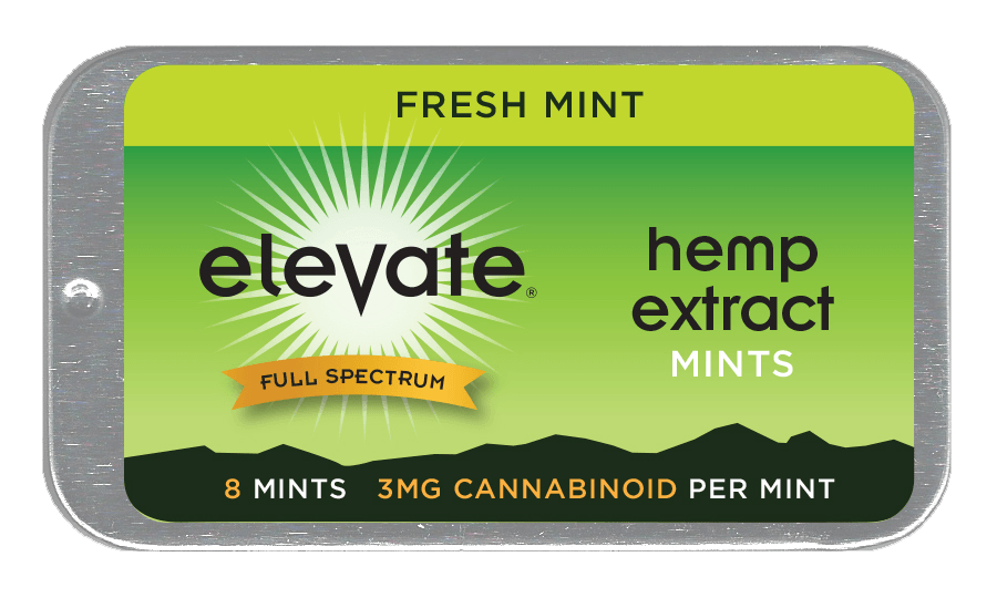 Elevate Hemp Extract CBD Mints