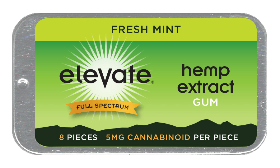 Elevate Hemp CBD Infused Gum