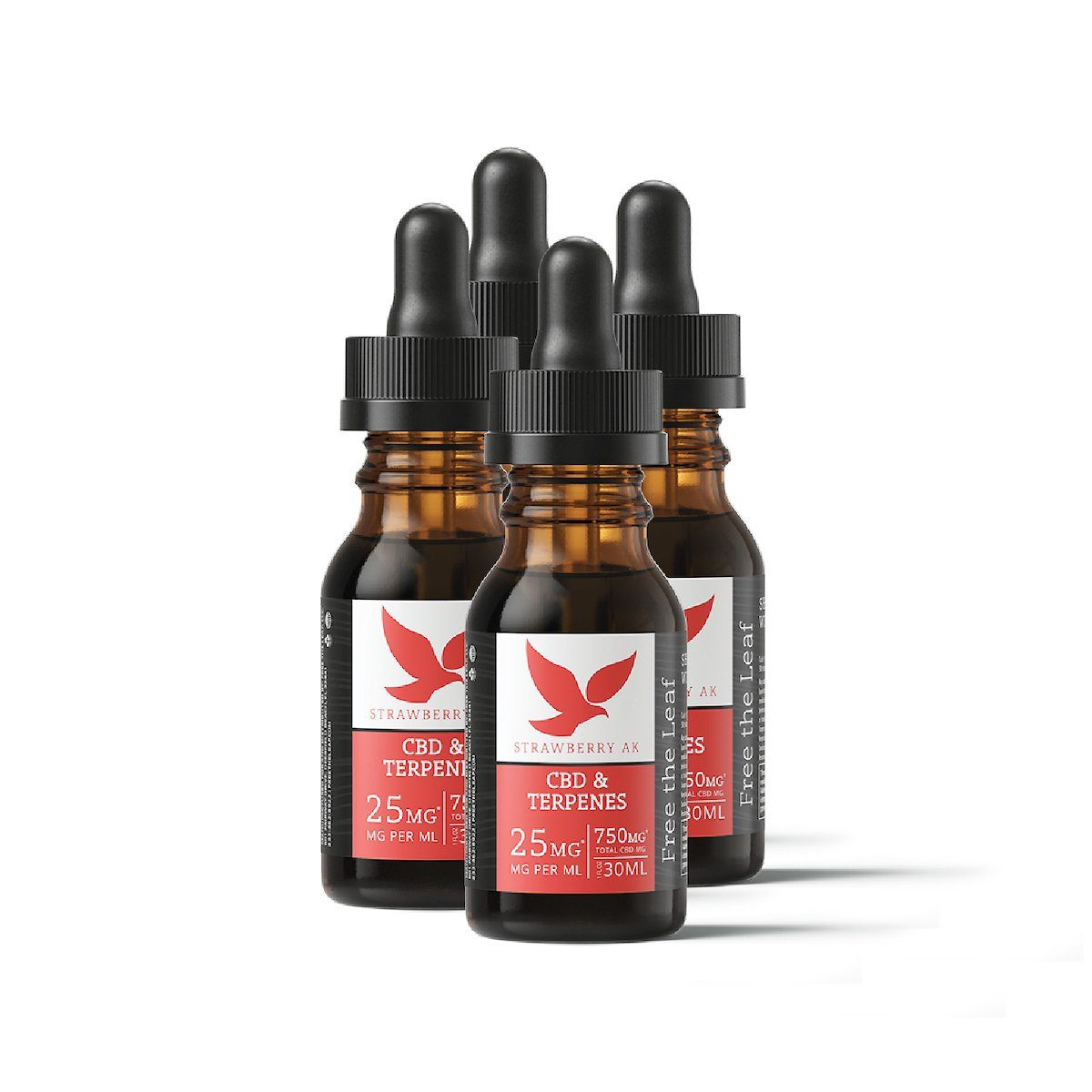 Free the Leaf CBD Strawberry AK Terpene Tincture