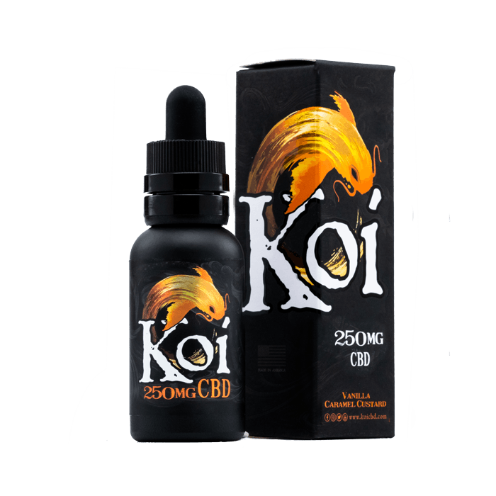 250mg Gold Koi CBD Vape Juice