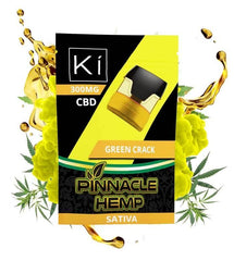 Pinnacle Hemp Green Crack 300mg Ki Replacement Pod Full Spectrum CBD Vape