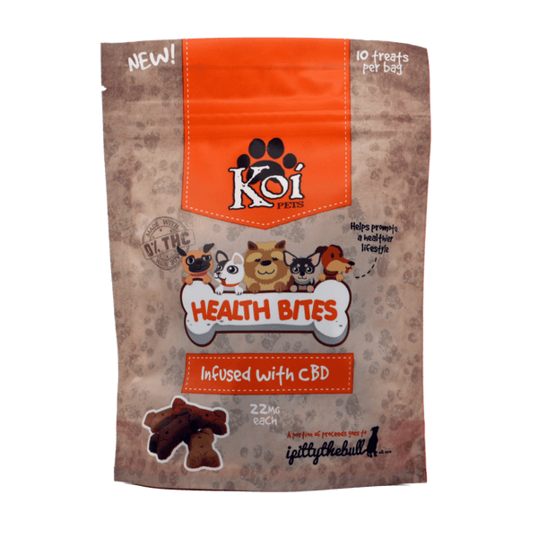 Koi Health Bites CBD Infused Dog Treats