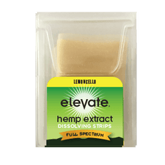 Elevate Hemp CBD Dissolvable Strips - Limoncello