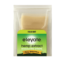 Elevate Hemp CBD Dissolvable Strips - Fresh Mint