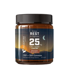 Receptra Serious Rest Gummies with CBD and CBN