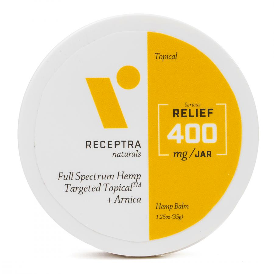Receptra Serious Relief + Arnica Targeted Topical 0.3% THC 400MG