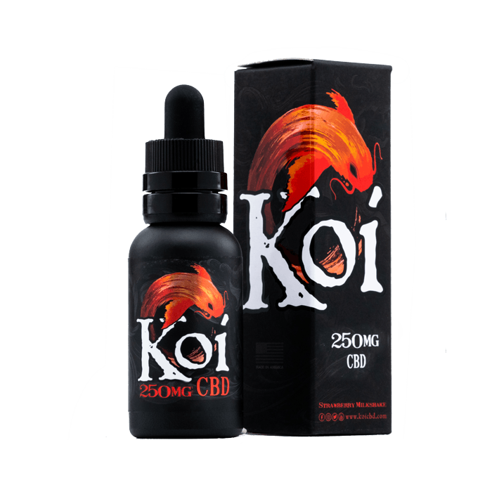 250mg Red Koi CBD Vape Juice
