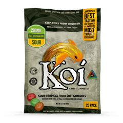 Koi CBD Sour Tropical Gummies (20 Pack)