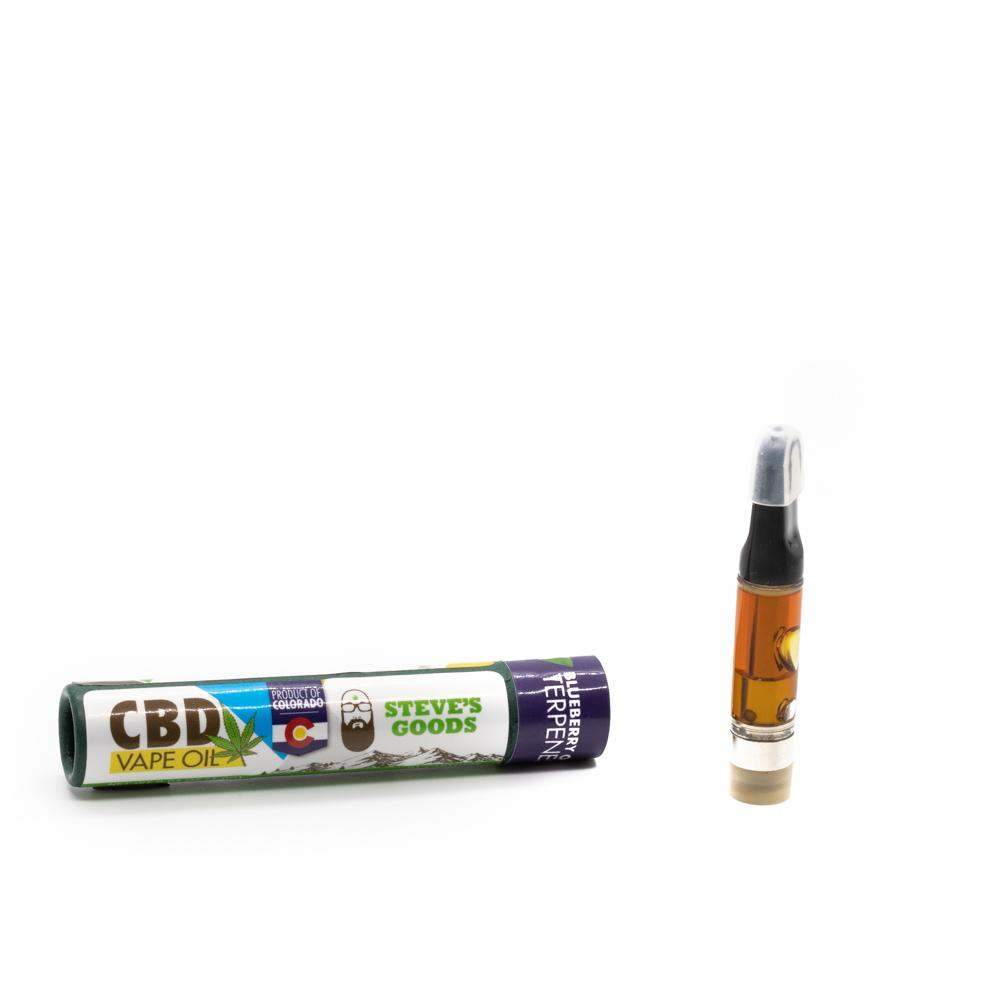 Steve's Goods Blueberry OG CBD Vape Cartridge 650mg