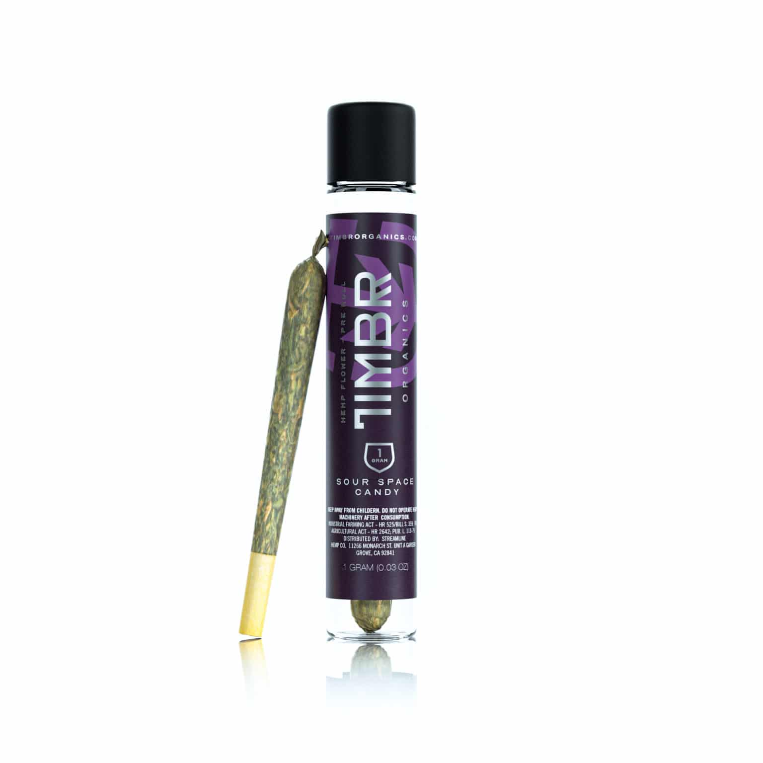 TIMBR Sour Space Candy CBD Pre Roll