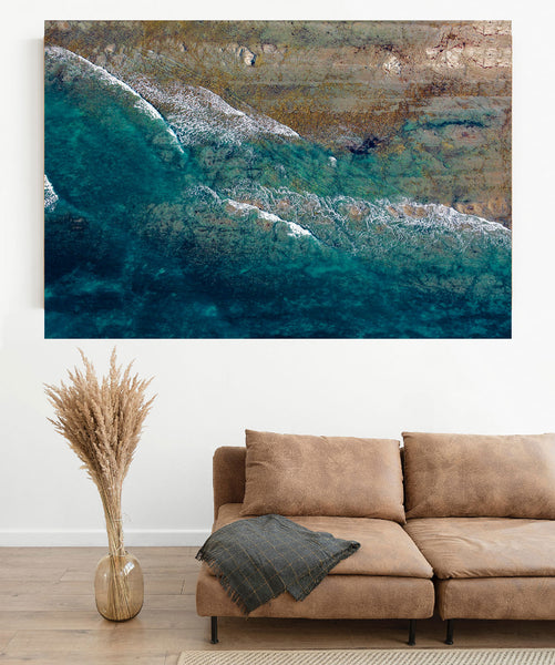 'Clifford Bay Break' Photographic Print 2, Marlborough