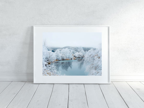 'Kellands Pond Hoar Frost' Photographic Print 1